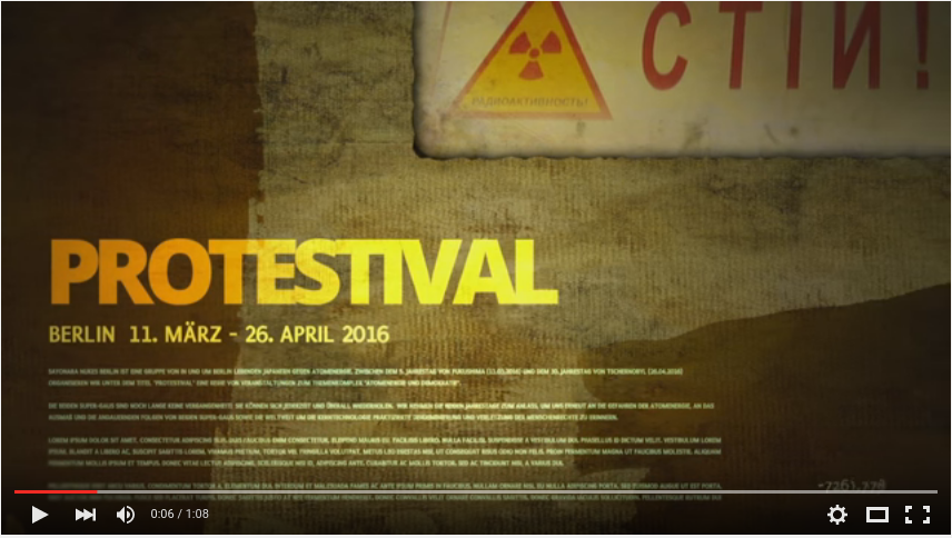 Protestival 2016 PV Version D (Youtube)